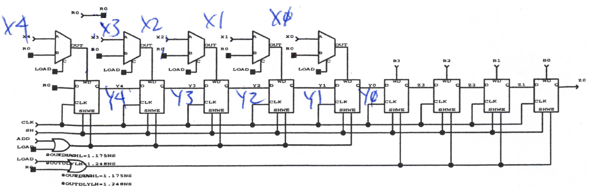 16-bit multiplier logic diagram, 8-bit multiplier diagram, 4 bit adder diagram, bit mode diagram, bit shifter diagram, on 4 bit multiplier logic diagram