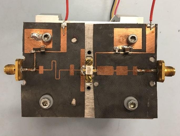 Design of a High Power, Wideband Power Amplifier Using AlGaN-GaN